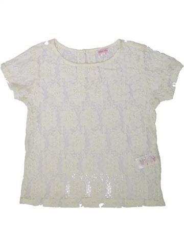 Camiseta de manga corta niña MISS E-VIE blanco 12 años verano #1345540_1