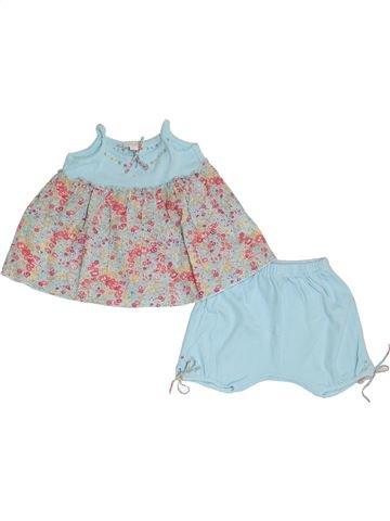 Conjunto niña JACADI azul 6 meses verano #1345713_1