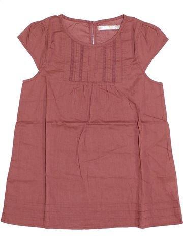 Blusa de manga corta niña CFK marrón 12 años verano #1345765_1