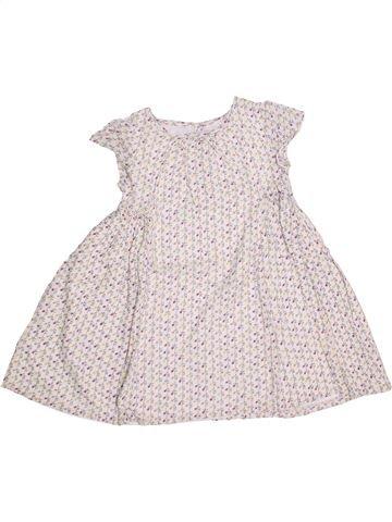 Vestido niña MONOPRIX blanco 6 años verano #1345906_1