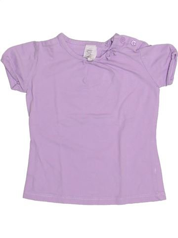 T-shirt manches courtes fille C&A rose 12 mois été #1345956_1