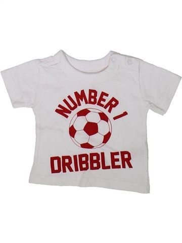 Camiseta de manga corta niño PEP&CO blanco 0 meses verano #1346436_1