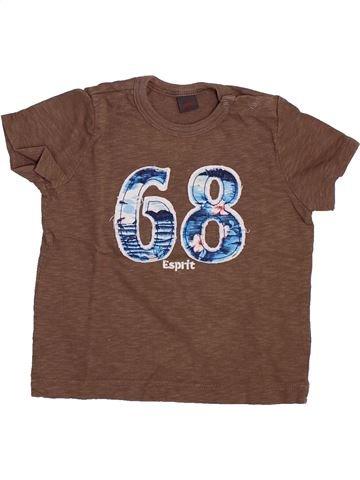 Camiseta de manga corta niño ESPRIT marrón 9 meses verano #1346511_1