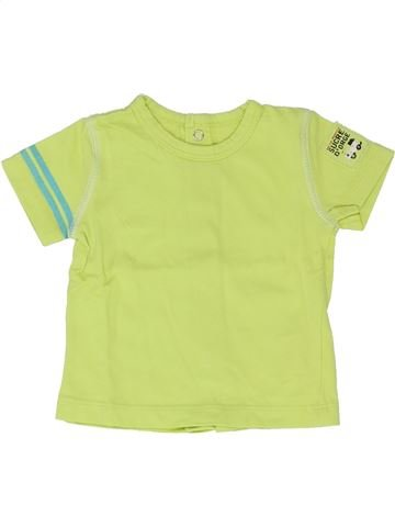 T-shirt manches courtes garçon SUCRE D'ORGE vert 3 mois été #1346735_1
