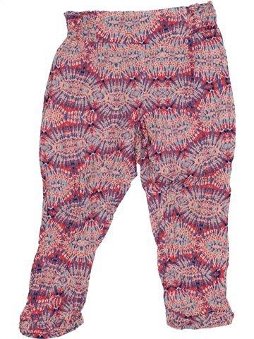 Pantalon fille CONFETTI rose 4 ans été #1347412_1