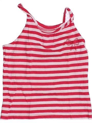 T-shirt sans manches fille LA COMPAGNIE DES PETITS rose 2 ans été #1347457_1