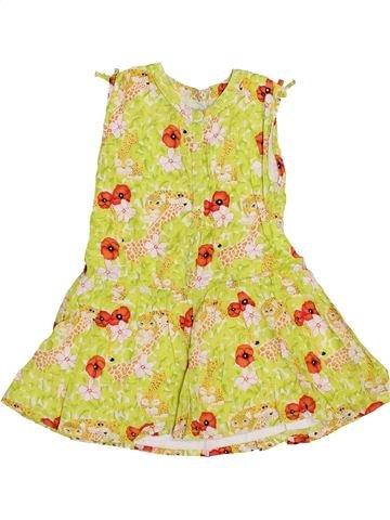 Vestido niña KENZO amarillo 3 años verano #1347476_1