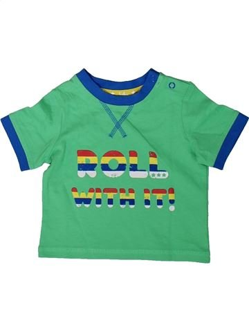 Camiseta de manga corta niño TU verde 3 meses verano #1347795_1