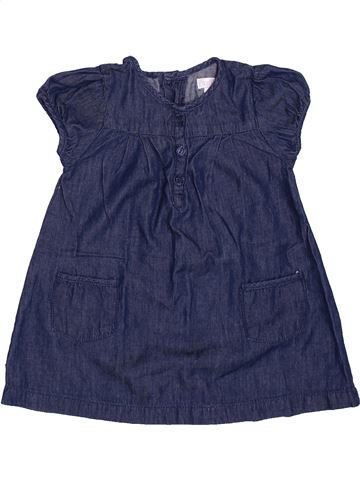 Robe fille OKAIDI bleu 6 mois été #1347808_1