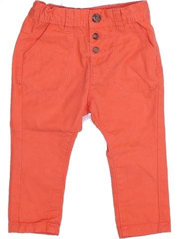 Pantalon fille TAPE À L'OEIL orange 6 mois été #1347823_1