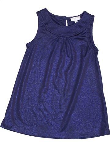Vestido niña KIMBALOO violeta 2 años verano #1348460_1