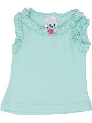 T-shirt sans manches fille BABY gris 6 mois été #1348909_1