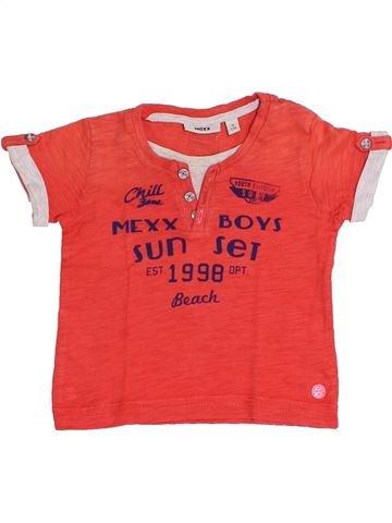 T-shirt manches courtes garçon MEXX rouge 9 mois été #1349043_1