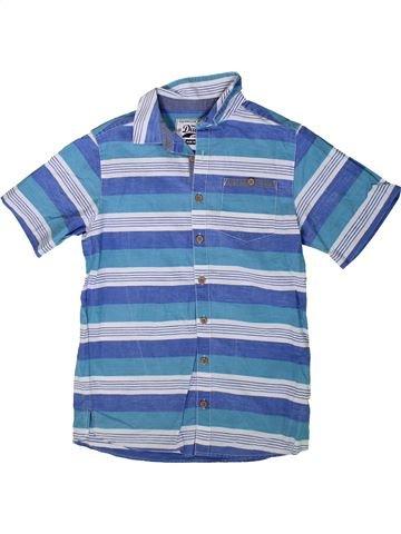 Chemise manches courtes garçon TRUE DUDES bleu 11 ans été #1349655_1