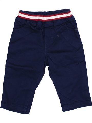 Pantalon garçon P'TIT BISOU violet 6 mois hiver #1349884_1