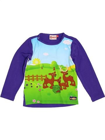 T-shirt manches longues fille LEGO WEAR vert 4 ans hiver #1350263_1