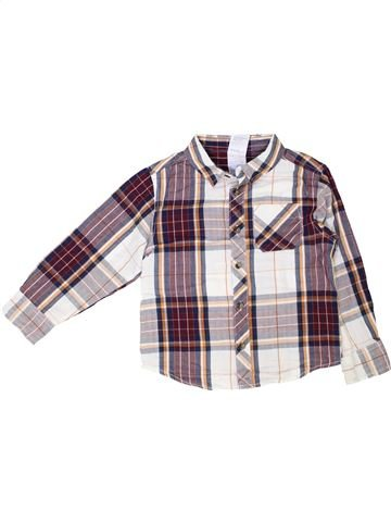 Chemise manches longues garçon URBAN RASCALS blanc 5 ans hiver #1350368_1
