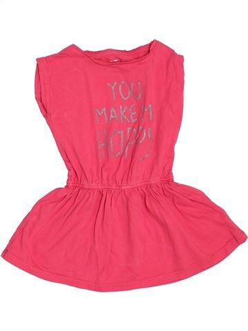 Vestido niña VERTBAUDET rosa 3 años verano #1350433_1