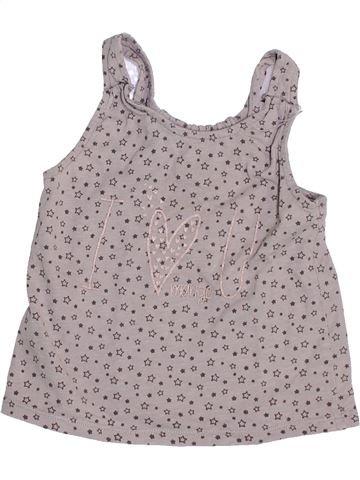 T-shirt sans manches fille MANGO rose 3 ans été #1350451_1