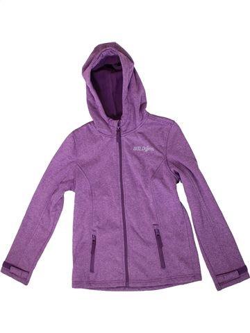 Veste fille YIGGA violet 12 ans hiver #1350624_1