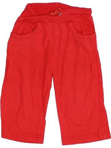 Pantalon fille AGATHA RUIZ DE LA PRADA rouge 2 ans été #1350958_1
