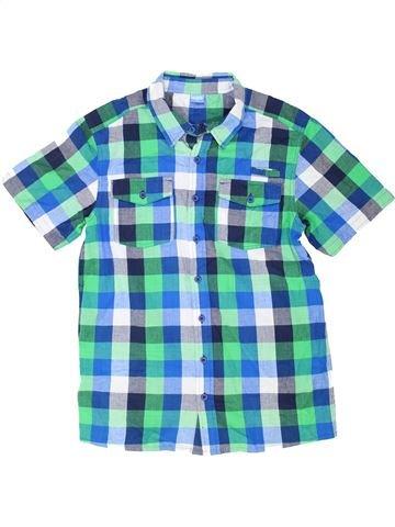 Chemise manches courtes garçon KIDS bleu 14 ans été #1351496_1