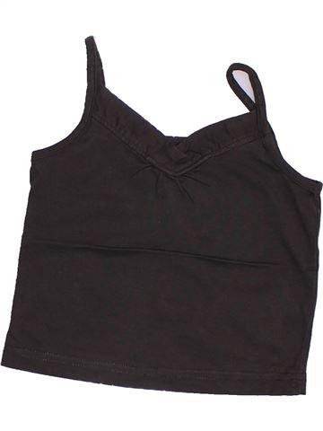 T-shirt sans manches fille 3 SUISSES beige 3 ans été #1351634_1