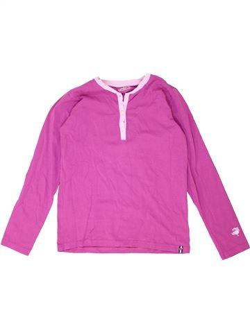 T-shirt manches longues fille JAKO-O violet 13 ans hiver #1351798_1