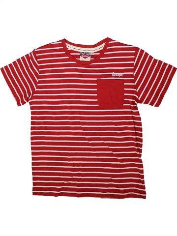 T-shirt manches courtes garçon LEE COOPER rose 12 ans été #1352210_1