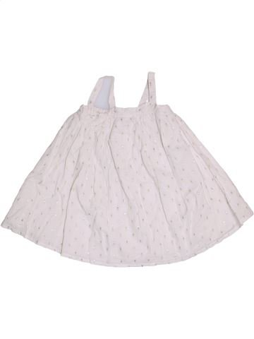 Robe fille CADET ROUSSELLE blanc 18 mois été #1352354_1