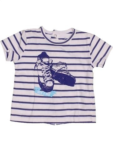 Camiseta de manga corta niño SUCRE D'ORGE blanco 3 meses verano #1352552_1