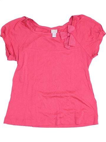 Camiseta de manga corta niña CYRILLUS rosa 14 años verano #1352621_1