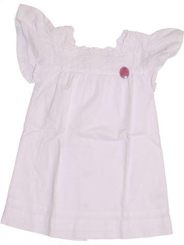 Robe fille KIABI blanc 12 mois été #1352648_1