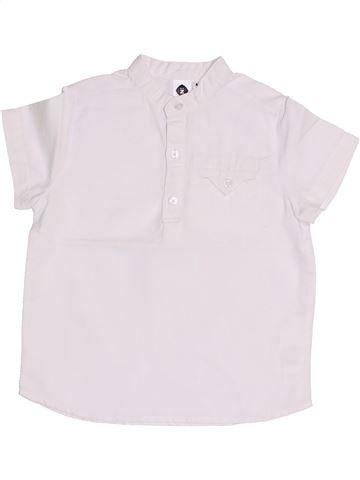 Polo de manga corta niño GENERATION Z blanco 4 años verano #1353221_1