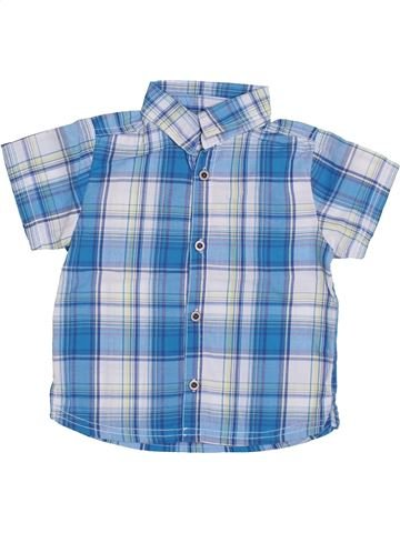 Camisa de manga corta niño KIMBALOO azul 2 años verano #1353452_1