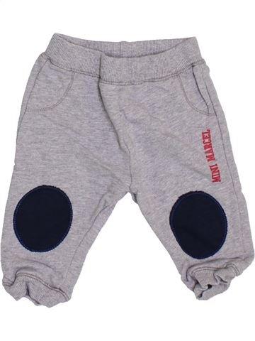 Pantalon garçon LE PETIT MARCEL gris 6 mois hiver #1353999_1