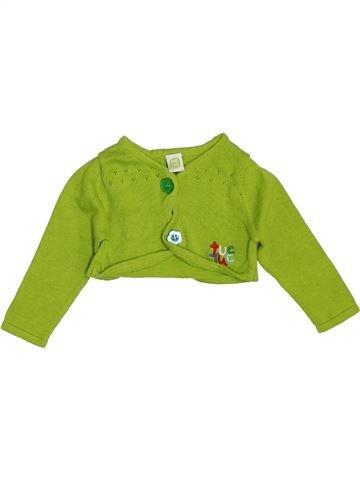 Gilet fille TUC TUC vert 3 mois hiver #1354049_1