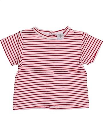Camiseta de manga corta niño LES BEBES SONT COMME ÇA rosa 3 meses verano #1354204_1