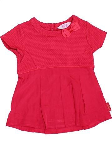 Robe fille BAKER rouge 18 mois été #1355157_1