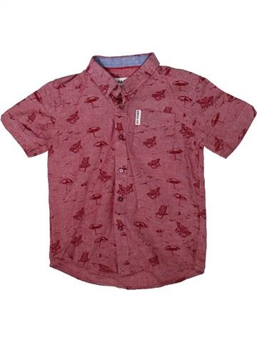 Camisa de manga corta niño BEN SHERMAN violeta 6 años verano #1355421_1