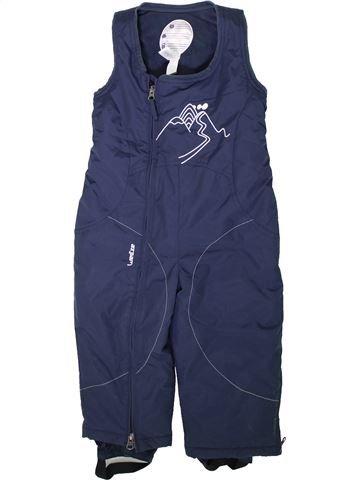 Ski garçon WED'ZE bleu 3 ans hiver #1355610_1