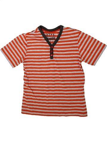 T-shirt manches courtes garçon CHEROKEE orange 9 ans été #1355667_1