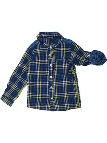 Camisa de manga larga niño NAME IT azul 4 años invierno #1355731_1