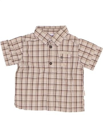 Camisa de manga corta niño P'TIT BISOU gris 6 meses verano #1355966_1