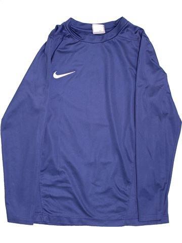 Camiseta deportivas niño NIKE violeta 12 años invierno #1356342_1