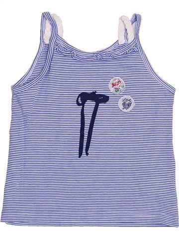 T-shirt sans manches fille SUCRE D'ORGE bleu 5 ans été #1356496_1