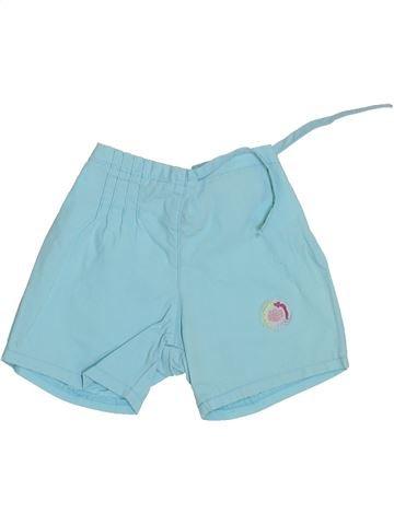 Short - Bermuda fille AUBISOU bleu 3 mois été #1356519_1
