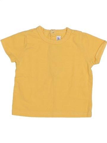 T-shirt manches courtes garçon SUCRE D'ORGE orange 3 mois été #1356540_1