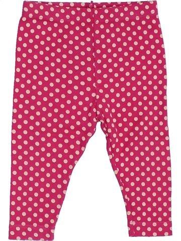 Legging niña PETIT BATEAU rosa 6 meses verano #1356696_1