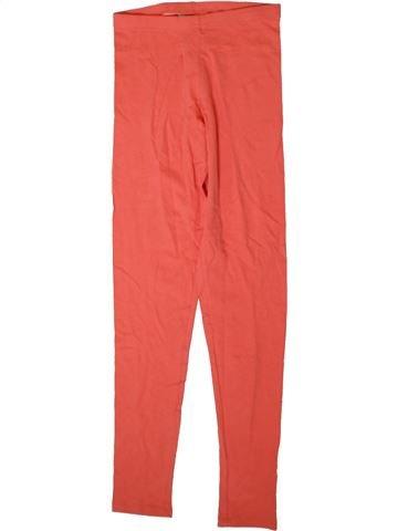 Legging fille I LOVE GIRLSWEAR orange 11 ans été #1357040_1